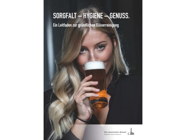 Brauer-Bund veröffentlicht Leitfäden zur Gläser-Hygiene und zur Wiederinbetriebnahme von Schankanlagen