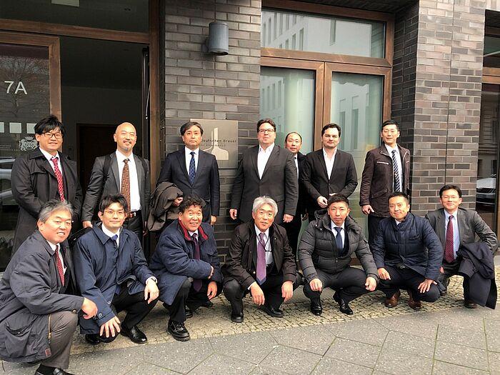 Japanische Delegation besucht die deutschen Brauer
