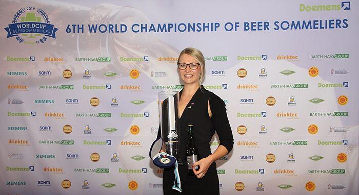 Elisa Raus ist die beste Biersommelière der Welt