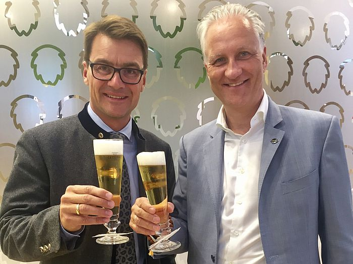 Dr. Jörg Lehmann und Stephan Barth führen das FORUM BIER