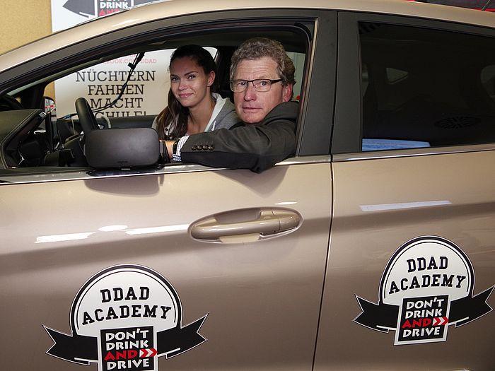 Startschuss für DON'T DRINK AND DRIVE Academy
