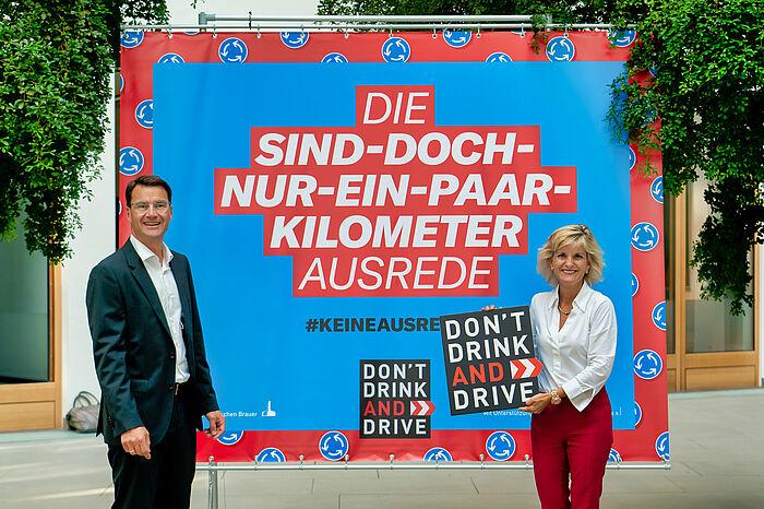 Bundesweite Kampagne gegen Alkohol am Steuer